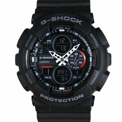 Primary image for Casio Analog-Digital Black Dial Men's Quartz Water Resistant Watch-GA-140-1A1DR