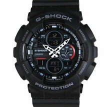 Casio Analog-Digital Black Dial Men's Quartz Water Resistant Watch-GA-14... - $101.20
