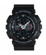 Casio Analog-Digital Black Dial Men's Quartz Water Resistant Watch-GA-14... - $101.20