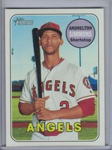 ANDRELTON SIMMONS 2018 Topps Heritage Magenta Back #29 (10 Produced) E4708 - $13.46