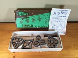 Vintage Hirco Waffle Set Of 4 Cards Timbales Hearts Clubs Diamonds Spade... - $23.20