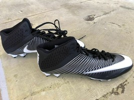Nike Vapor Speed 3/4 Mid 15.0 Size Football Cleats - $24.99