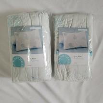 Martha Stewart Pleasant Fields Standard Pillow Shams (2) - $46.74