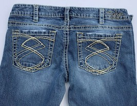Silver Jeans Womens Frances  Sz 30 Actual 32 x 25 Thick Stitch Low Rise ... - $31.67