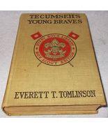 Tecumseh's Young Braves Boy Scout Edition Everett Tomlinson 1896 1st Pri... - $24.95