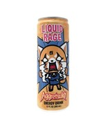 Aggretsuko Liquid Rage Energy Drink 12 ounce Illustrated Can NEW SEALED ... - $3.99