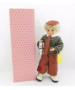 Brinn's Doll September School Days Calendar Clown Boy 1989 Limited Editi... - $17.95