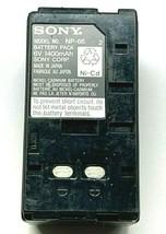 Battery Pack for Sony Camcorder Battery NP-66 6V 1400mAh - $12.99