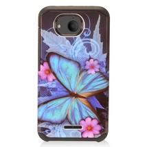 For Alcatel Tetra Phone Case Design Hybrid Hard 2Layer Cover - $8.08