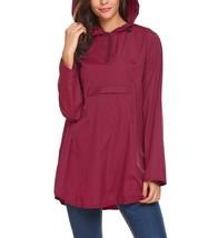 Zeagoo Women's Waterproof Packable Rain Jacket Batwing-Sleeved Poncho Ra... - $70.32+