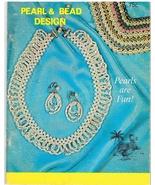 Vintage Beadwork Craft Book Pearl & Bead Design - $5.99