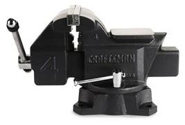 "4"" Bench Vise Workshop Bench Vise Tool Mechanic Clamp Press Locking Swiv... - $78.66"