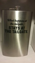 Giant Stainless Steel Flask 64 Ounces of Fun - What Happens at the Tailgate - $8.09