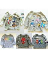 Toddler Boys Shirts 12m 18m 2t 3t 4t PJ Masks Paw Patrol Batman Baby Shark - $9.99