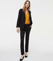 NWT Ann Taylor LOFT Black Floral Jacquard Blazer & Marisa Pencil Pants 1... - $46.99