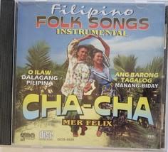 Filipino Folk Songs Instrumental Cha-Cha Mer Felix Philippine/Tagalog CD - $8.95