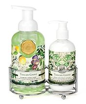 Michel Design Works Foaming Hand Soap and Lotion Caddy Gift Set, Tuscan ... - $53.89