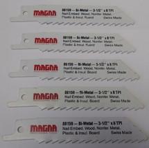 "Magna 88159 3-1/2"" x 8 TPI Reciprocating Saw Blades (5 Blades) Swiss - $3.71"