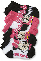 Disney Minnie Mouse Toddler Girl's 5-Pairs Ankle Socks - $23.75