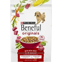 Purina Beneful Dry Dog Food, Originals With Real Beef, 15.5 Lb Bag