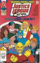 Dc Justice League Europe Annual #2 Armageddon 2001 League Of Future Past - $2.95