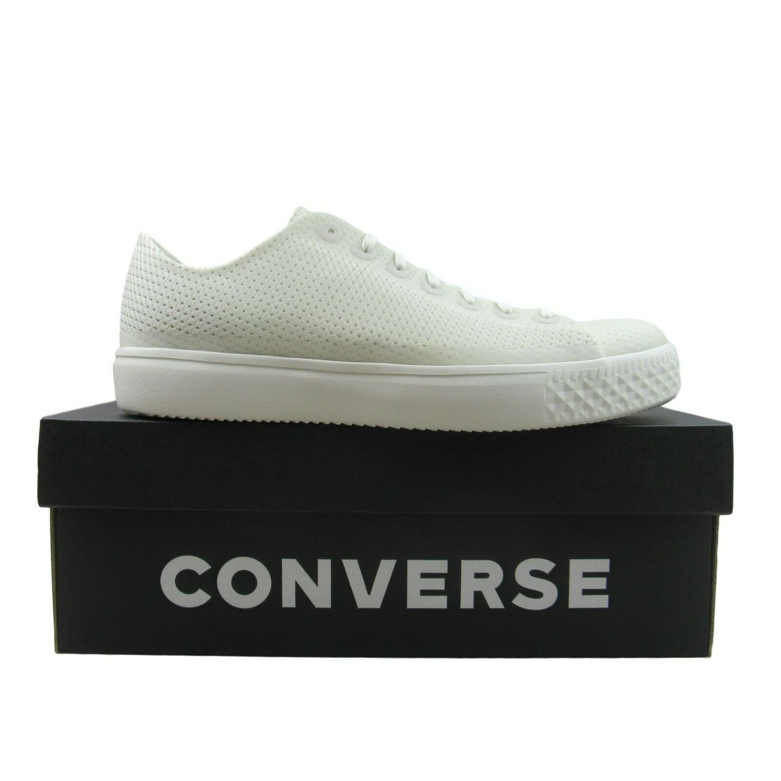 Converse CTAS Modern OX Buff White Shoes Size 9.5 Mens NEW 156652C