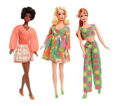 Barbie MOD FRIENDS 2018 Limited Edition Repro Set Officially Licensed NIB/Sealed - $69.95