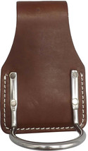Hammer Holster - Stitched Leather & Riveted Stainless Steel Holder Amish Usa - $28.68