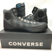 NWT Converse CT Street Hiker Woolrich Hi Top Sneakers Gray Plaid Sz 12M/... - $94.05