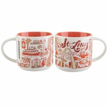 Starbucks Been There Series Collection St. Louis Coffee Mug New With Box - $19.34