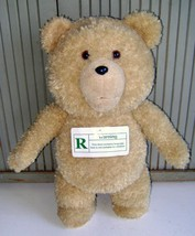 "TED~1st ISSUE TALKING TEDDY BEAR~""R"" WARNING TAG~CURSING~MOVING MOUTH~2013 - $28.04"