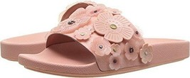 Coach Sophi Slide Sandals Tea Rose Peone Size 10 - $98.99