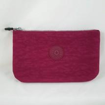 Kipling Creativity XL Pouch Wristlet Wallet Purple Dahlia AC7318 Magenta... - $17.99
