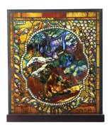 YTC Tiffany Winter Stained Glass - $87.10