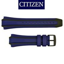 Genuine Citizen Eco-Drive BN0097-02H  E168-S080126 Blue Black Rubber Wat... - $59.95