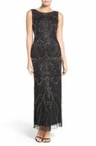 Pisarro Nights Embellished Mesh Gown Sz 4 - $127.30