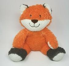 "11"" Animal Adventure 2018 Orange & Brown Sitting Fox Stuffed Animal Plush Toy - $23.38"