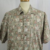 Cooke Street Honolulu Aloha Hawaiian Button-Front Short Sleeve Shirt Sz ... - $23.38