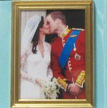 DOLLHOUSE Wedding Balcony Kiss Jacqueline's Will & Kate 9973GR Miniature - $5.18