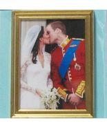DOLLHOUSE Wedding Balcony Kiss Jacqueline's Will & Kate 9973GR Miniature - $5.20