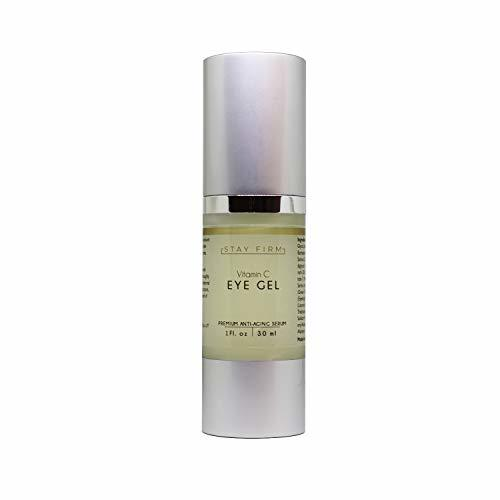 Vitamin C Eye Gel with Collagen-Building Properties to Reduce the Appearance of