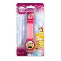 Disney Princess Digital LCD Watch For Girls (assorted colors) - $93,02 MXN