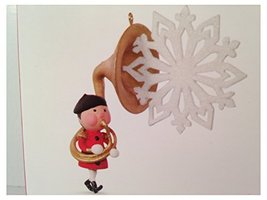 Sweet Toot Tuba Christmas Soldier and Snowflake 2016 Hallmark Keepsake Ornament  - $8.90