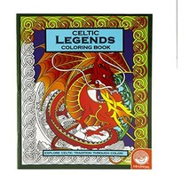 Celtic Legends Coloring Book by Mind Ware - $9.00