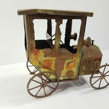 Metal Toy Car Vintage Collectible Craft handmade Holiday Decor House - $24.95
