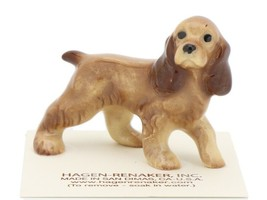 Hagen Renaker Miniature Dog Cocker Spaniel Papa Ceramic Figurine image 1