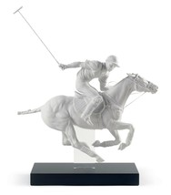 Lladro Polo Player Figurine. Limited Edition 01008719 - $2,245.00