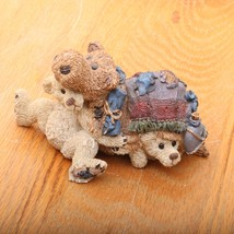 Boyds Bears and Friends The Bearstone Collection Thatcher & Eden The Cam... - $18.69