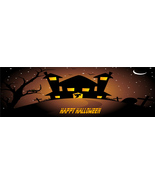 Halloween Banner H21-Digital ClipArt-Art Clip-Digital-Pumpkin-Bats-Ghost - $6.00