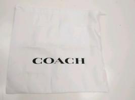 Coach dust bag white silky  - $14.24